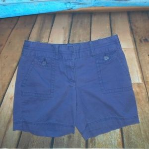 Ann Taylor LOFT Purple Shorts